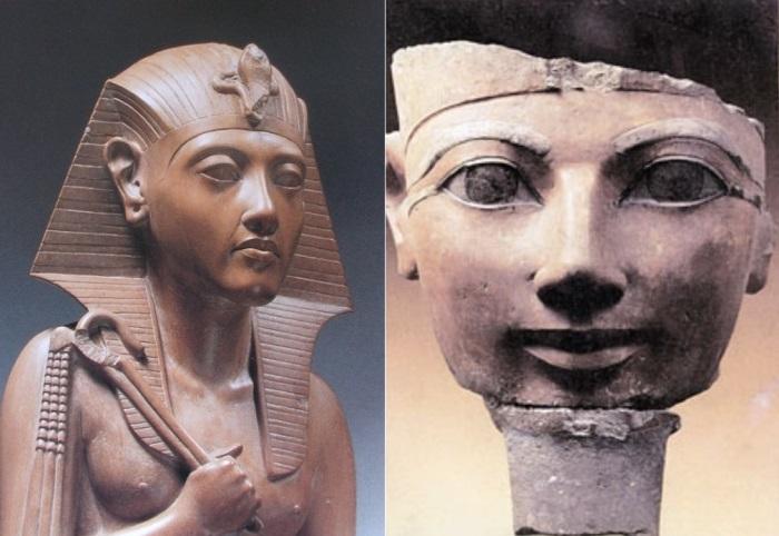 Женщина-фараон Хатшепсут | Фото: personallife.ru и newacropol.ru